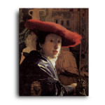 Jan Vermeer | The Girl with the Red Hat