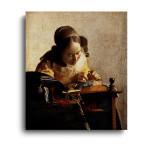 Jan Vermeer   The Lacemaker