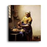 Jan Vermeer   The Milkmaid