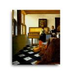 Jan Vermeer   The Music Lesson