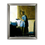 Jan Vermeer | Woman in Blue Reading a Letter