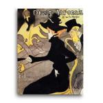 Henri de Toulouse-Lautrec | Divan Japonais