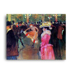 Henri de Toulouse-Lautrec   At the Moulin Rouge, The Dance