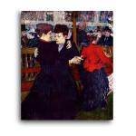 Henri de Toulouse-Lautrec | At the Moulin Rouge The Two Waltzers