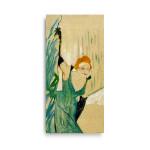 Henri de Toulouse-Lautrec | Ivette Guilbert Greeting the Audience