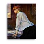 Henri de Toulouse-Lautrec | The Laundress