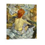 Henri de Toulouse-Lautrec   Woman at Her Toilette