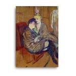 Henri de Toulouse-Lautrec | The Two Girlfriends