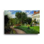 Camille Pissarro | Garden of Les Mathurinus at Pontoise
