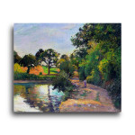 Camille Pissarro | Pond at Montfoucault