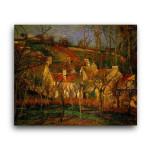Camille Pissarro   Red Roofs Corner of a Village