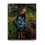 Camille Pissarro | The Shepherdess