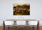 View of l'Hermitage Jallais Hills Pontoise on the wall