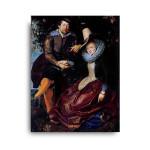 Paul Rubens | Self-Portrait with Isabella Brant