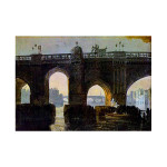 J.W.Turner | Old London Bridge