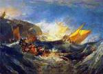 J.W.Turner | Shipwreck of the Minotaur