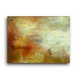 J.W.Turner | Sun Setting over a Lake