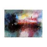 J.W.Turner | The Burning of the Houses of Lords and Commons