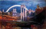The Forum with a Rainbow