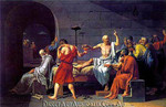 Jaques Louis David   The Death of Socrates