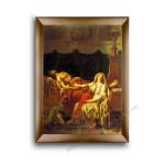 Modern Flat Gold Frame