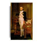 David   Napoleon in His Study