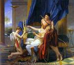 Jaques Louis David | Sappho and Phaon