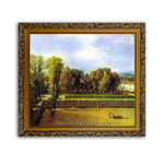 David | View of the Garden of the Luxembourg Palace