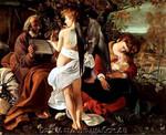 Caravaggio | Rest on the Flight into Egypt
