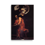 Caravaggio | The Inspiration of Saint Matthew