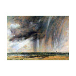 John Constable | Rainstorm off the Coast at Brighton