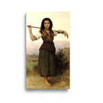 William Bouguereau | The Shepherdess