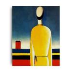 Kasimir Malevich | Half-Figure in a Yellow Shirt