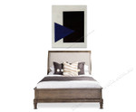 Suprematism with Blue Triangle and Black Square on the wall