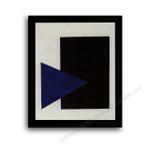 Modern Flat Black Frame