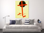 Suprematism 1927 on the wall