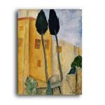 Modigliani   Cypress Trees