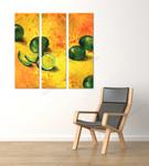 Lime Life on the wall