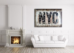 NYC on the wall