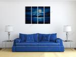Deep Blue Night on the wall