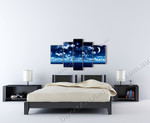 Dreamy Ocean Night on the wall