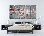 Cherry Blossoms in Winter on the wall