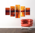 Mellow Sunset on the wall