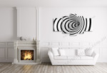Whirlpool on the wall