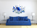 Azurite Love on the wall