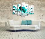 Aquamarine Love on the wall