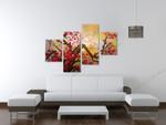 Sakura on the wall