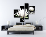 White Lotus on the wall