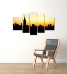 Skyline on the wall
