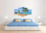 Coconut Trees on the wall